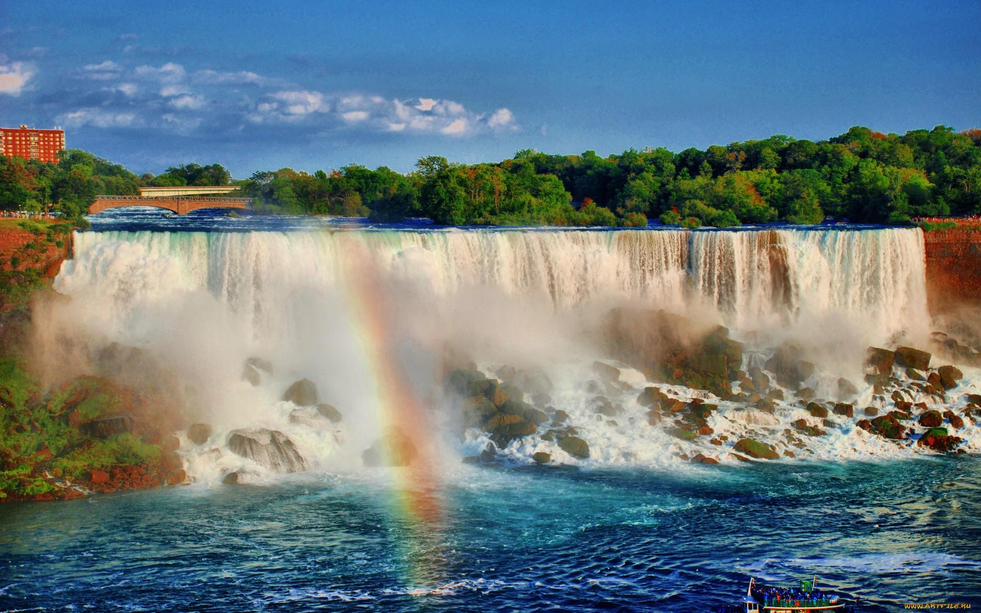 ниагарский водопад фото перенести на рабочий стол нет